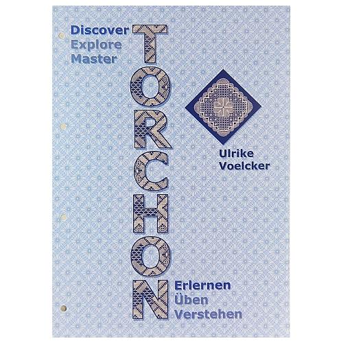 Torchon Erlernen-Üben-Verstehen, Ulrike Voelcker, in der Klöppelwerkstatt, hier der 1. Teil erlernen