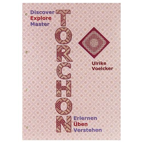 Torchon Erlernen-Üben-Verstehen, Ulrike Voelcker, in der Klöppelwerkstatt, hier der 2. Teil üben