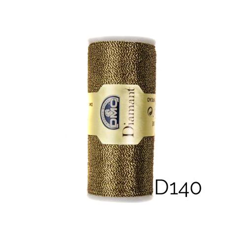DMC Diamant Metallic Garn Farbe D140, zum klöppeln, sticken und häkeln