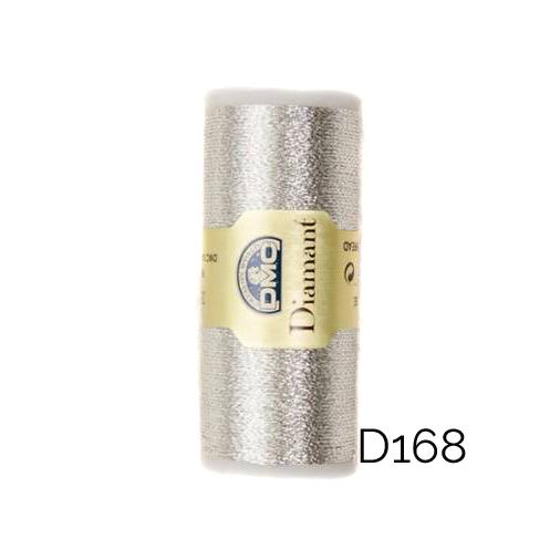 DMC Diamant Metallic Garn Farbe D168, zum klöppeln, sticken und häkeln