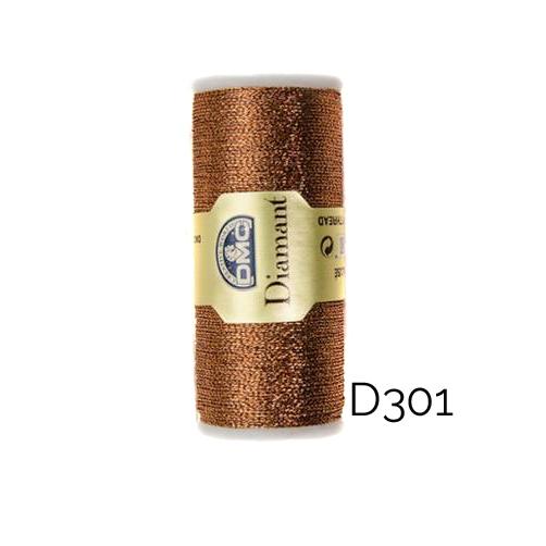 DMC Diamant Metallic Garn Farbe D301, zum klöppeln, sticken und häkeln