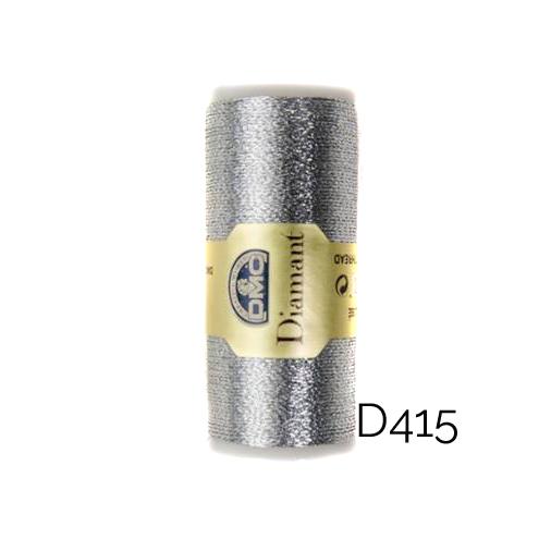 DMC Diamant Metallic Garn Farbe D415, zum klöppeln, sticken und häkeln