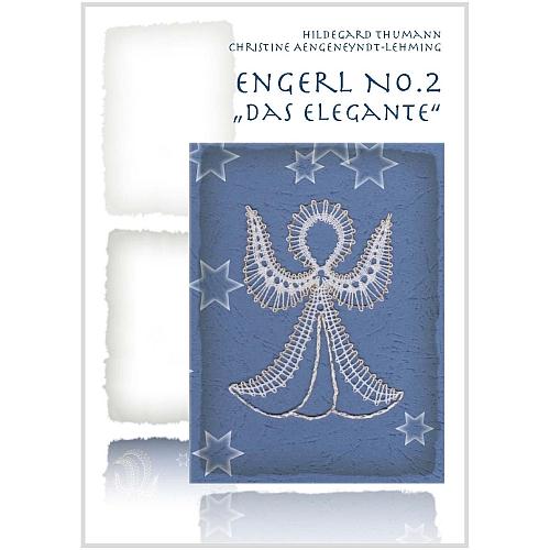 Klöppelbrief 3 Engerl ~ Thumann/Aengenyndt-Lehming, Weihnachten, in der Klöppelwerkstatt, klöppeln, Engel No. 2