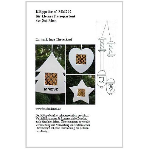 Passepartout 3er Set Mini MM292 Entwurf von Inge Theuerkauf