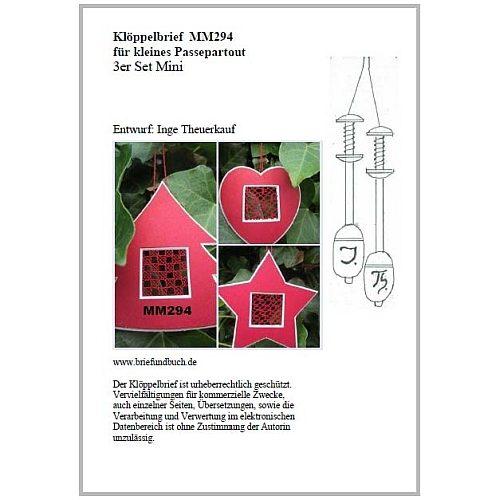 Passepartout 3er Set Mini MM294 Entwurf von Inge Theuerkauf