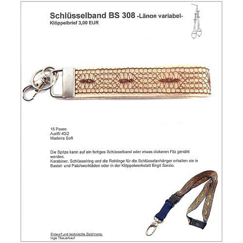 Schlüsselanhänger BS 310 Klöppelbrief
