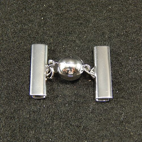 Kugelschliesse 13550 2cm rhodiniert