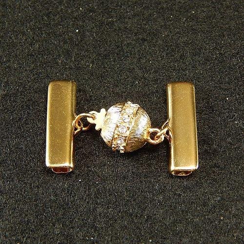 Kugelschliesse 13737 2,0 cm vergoldet