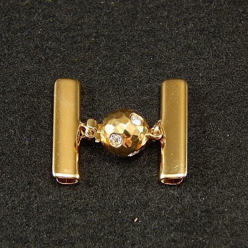 Kugelschliesse 14375 vergoldet2,0 cm