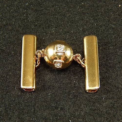 Kugelschliesse 14690 vergoldet 2,5 cm