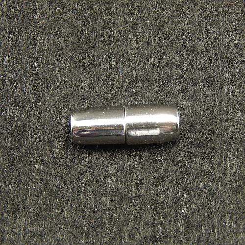 Magnetverschlüsse 14867 rodiniert 4mm, in der Klöppelwerkstatt, Schmuck, klöppeln, Schließe, Verschluß