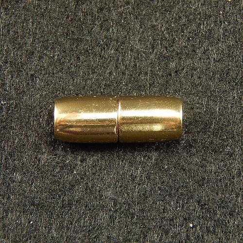 Magnetverschlüsse 14867 vergoldet 4mm, in der Klöppelwerkstatt, Schmuck, klöppeln, Schließe, Verschluß