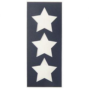 Passepartout 3 Ausschnitte Sterne nachtblau, Rückseite geschlossen