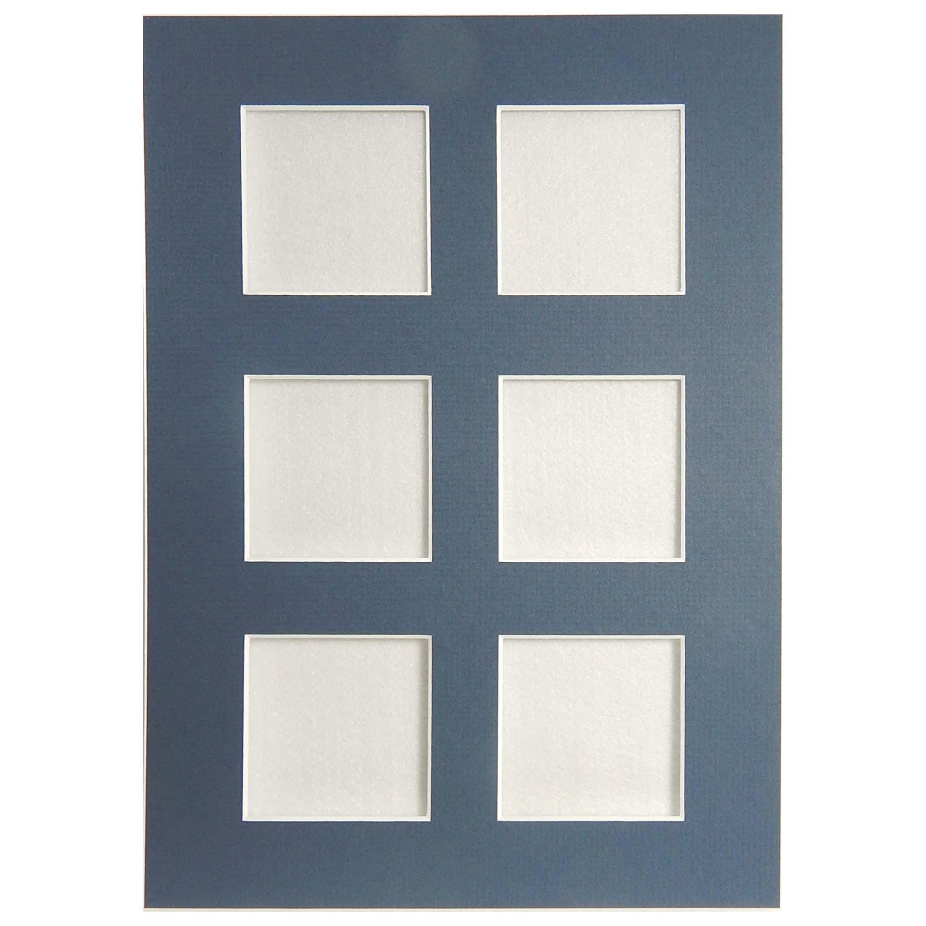 Passepartout mit 6 Ausschnitte in weiß, blau und schwarz in der Klöppelwerkstatt erhältlich, zum klöppeln, sticken, occhi, Nadelspitze, in blau