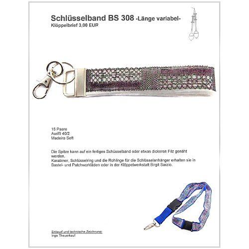 Schlüsselanhänger BS 308 Klöppelbrief