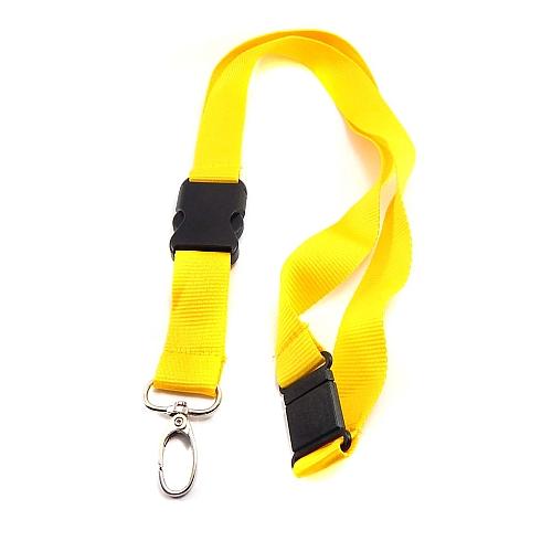 Schluesselband 20mm breit, zum Aufnähen von Spitze, geklöppelt, gehäkelt und andere Techniken, gelb