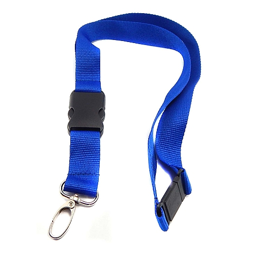 Schluesselband 20mm breit, zum Aufnähen von Spitze, geklöppelt, gehäkelt und andere Techniken, royal-blau