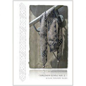 Torchonschal II für Manos Lace, von Hildegard Thumann entworfen zum klöppeln