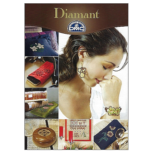 Sticken und Occhi mit DMC Diamant - Anleitungsheft, in der Klöpelwerkstatt, Occhi, Frivolité, Nadelspitze, Sticken, Schiffchenspitze, DMC, Diamant, Metallgarn