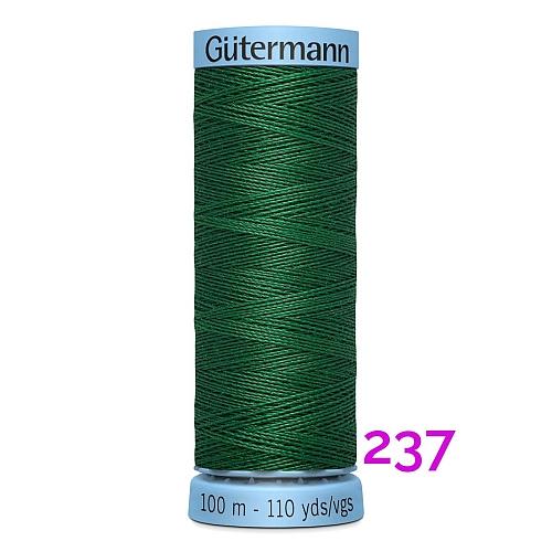 Gütermann Seide S303, Seidengarn auf der 100m Spule Farbe 237, in der Klöppelwerkstatt erhältlich und sehr gut zum klöppeln, häkeln, quilten, nähen, für Patchwork und Kumihimo geeignet.
