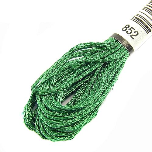 Anchor Marlitt 4-fädiges Glanzstickgarn in 90 hochglänzenden Farben lieferbar, zum Klöppeln, als Konturfaden, zum Sticken, Häkeln, in der Klöppelwerkstatt erhältlich. Farbe 852
