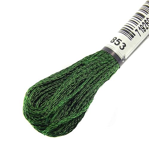Anchor Marlitt 4-fädiges Glanzstickgarn in 90 hochglänzenden Farben lieferbar, zum Klöppeln, als Konturfaden, zum Sticken, Häkeln, in der Klöppelwerkstatt erhältlich. Farbe 853