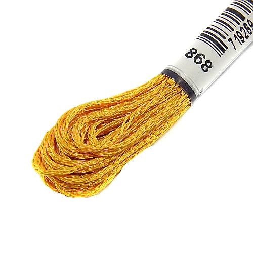 Anchor Marlitt 4-fädiges Glanzstickgarn in 90 hochglänzenden Farben lieferbar, zum Klöppeln, als Konturfaden, zum Sticken, Häkeln, in der Klöppelwerkstatt erhältlich. Farbe 868
