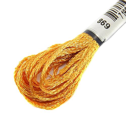 Anchor Marlitt 4-fädiges Glanzstickgarn in 90 hochglänzenden Farben lieferbar, zum Klöppeln, als Konturfaden, zum Sticken, Häkeln, in der Klöppelwerkstatt erhältlich. Farbe 869