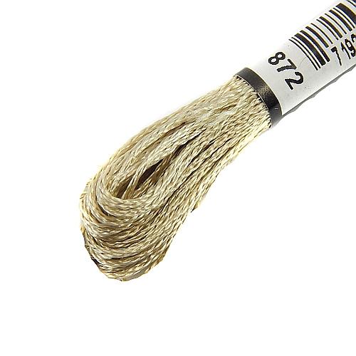 Anchor Marlitt 4-fädiges Glanzstickgarn in 90 hochglänzenden Farben lieferbar, zum Klöppeln, als Konturfaden, zum Sticken, Häkeln, in der Klöppelwerkstatt erhältlich. Farbe 872