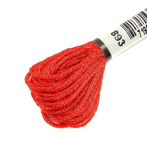 Anchor Marlitt 4-fädiges Glanzstickgarn in 90 hochglänzenden Farben lieferbar, zum Klöppeln, als Konturfaden, zum Sticken, Häkeln, in der Klöppelwerkstatt erhältlich. Farbe 893