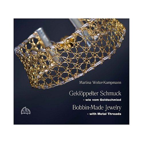 Geklöppelter Schmuck-mit Metallfäden von Martina Wolter-Kampmann