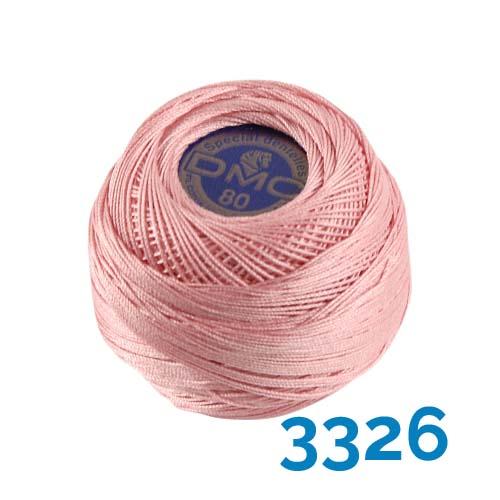 DMC Spitzengarn-Spezial Dentelles Farbe 3326