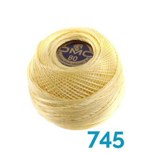 DMC Spitzengarn-Spezial Dentelles Farbe 745
