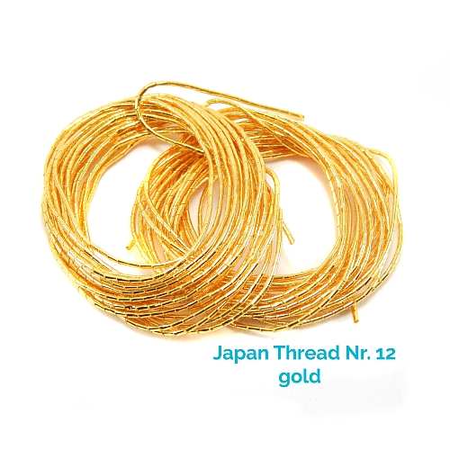 Japan Thread-Lumi Nr. 12 gold