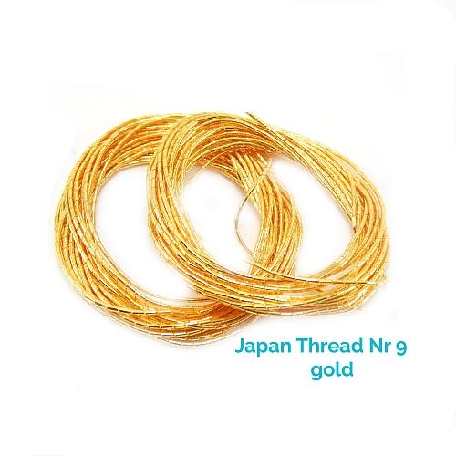 Japan Thread-LumiNr. 9 gold