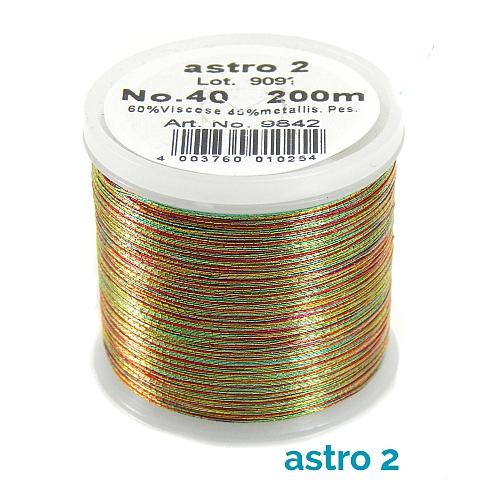 Madeira Metallic No 40 astro 2