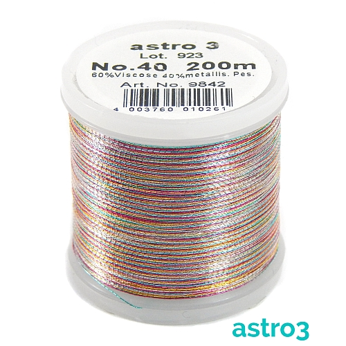 Madeira Metallic No 40 astro 3