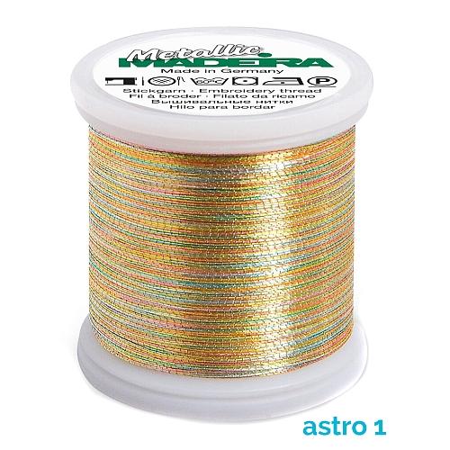Madeira Metallic No 40 astro 1
