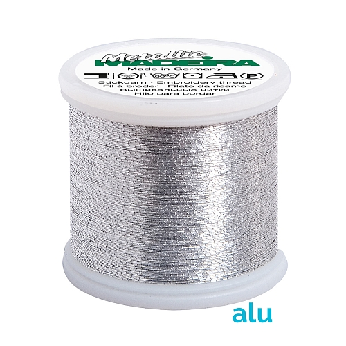 Madeira Metallic No 40 alu