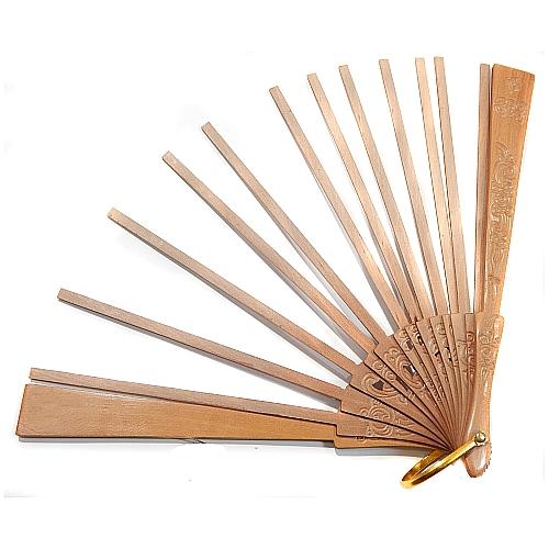 Fächer Modell Bilbao, Holzart: Birne Floral, dazu gehört der Klöppelbrief Torchonfächer 3, Entwurf: Marie Luise Prinzhorn, in der Klöppelwerkstatt erhältlich, Abanico, klöppeln, Torchon, Spitze