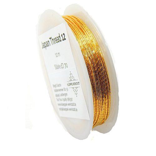 Japan Thread-Lumi 12 goldfarben