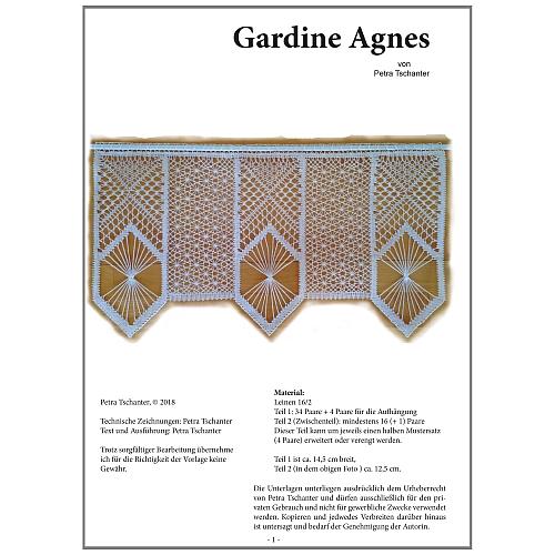 Kloeppelbrief Gardine Agnes
