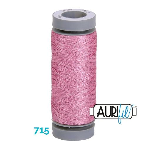 AURIFIL - Brillo - Glitzergarn Farbe Nr. 715, Effektgarn, Glitzergarn, Metallic, Stickgarn, in der Klöppelwerkstatt erhältlich