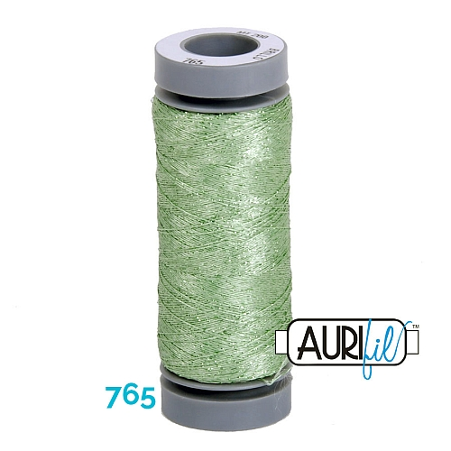 AURIFIL - Brillo - Glitzergarn Farbe Nr. 765, Effektgarn, Glitzergarn, Metallic, Stickgarn, in der Klöppelwerkstatt erhältlich