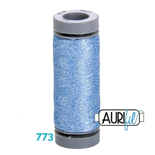 AURIFIL - Brillo - Glitzergarn Farbe Nr 773, Effektgarn, Glitzergarn, Metallic, Stickgarn, in der Klöppelwerkstatt erhältlich
