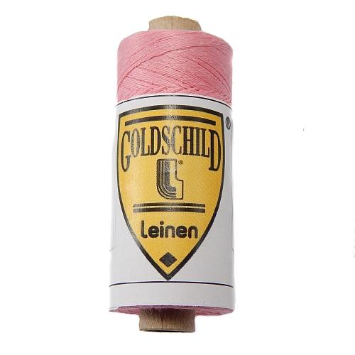 Goldschild farbiges Leinengarn, Handarbeitsgarn aus 100 % Leinen, Flach, gesponnen. Zum Klöppeln, Häkeln, Sticken, Weben, Modellbau und Buchbinden bestens geeignet, in der Klöppelwerkstatt erhältlich. Farb-Nr.: 60