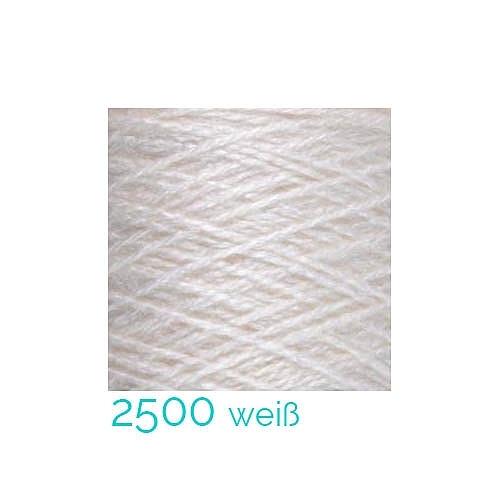 Tussah Seide Nm 20/2 Farbe 2500 weiß, zum Stricken, Weben, Klöppeln, Häkeln, in der Klöppelwerkstatt erhältlich, Seidengarne, Seidengarn