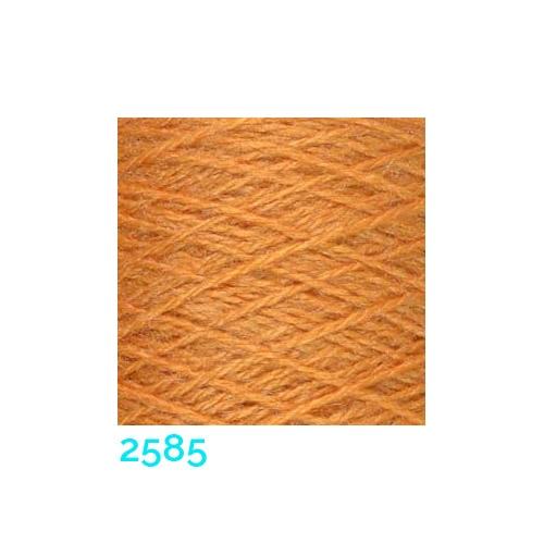 Tussah Seide Nm 20/2 Farbe 2585, zum Stricken, Weben, Klöppeln, Häkeln, in der Klöppelwerkstatt erhältlich, Seidengarne, Seidengarn