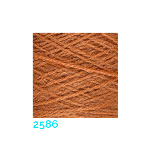 Tussah Seide Nm 20/2 Farbe 2586, zum Stricken, Weben, Klöppeln, Häkeln, in der Klöppelwerkstatt erhältlich, Seidengarne, Seidengarn
