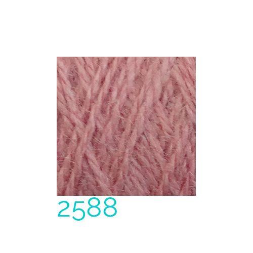 Tussah-Seide in der Farbe 2588 zum Klöppeln, Stricken, Häkeln in der Klöppelwerkstatt erhältlich